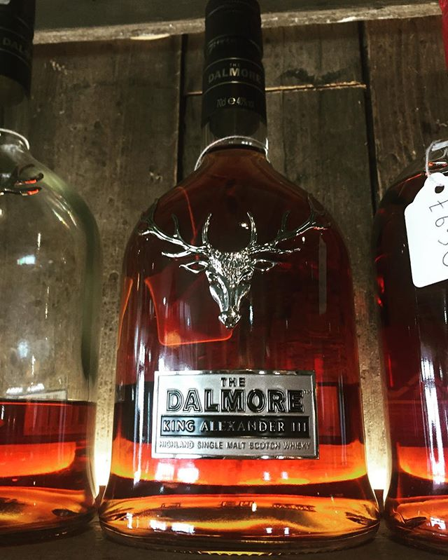 Now in stock Dalmore _King Alexander 3rd_ #leamingtonspa #foxandvivian #dalmore #whisky _leamwinesan