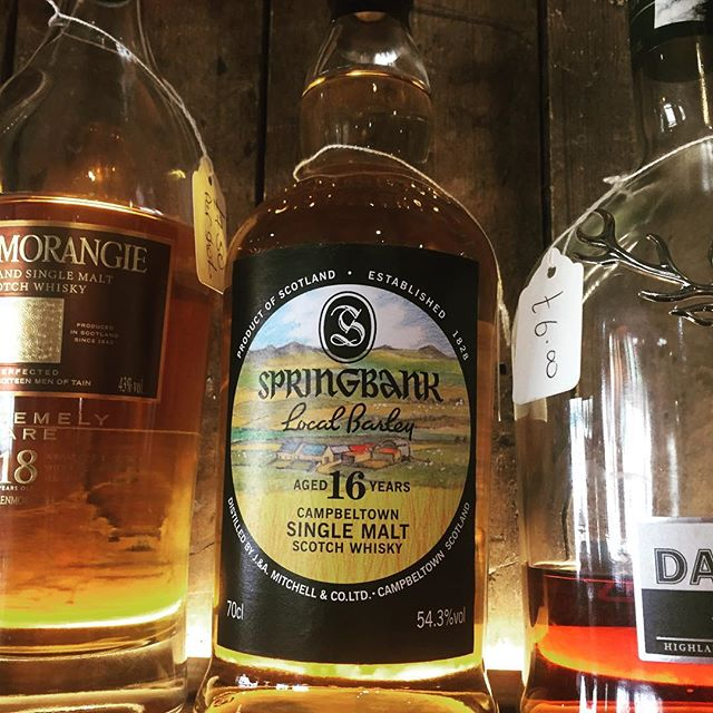 Now in stock Springbank 16 _local barley_ #leamingtonspa #foxandvivian #whisky #springbank _leamwine