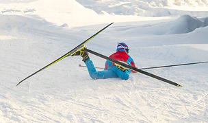 The%20skier%20stumbled%20and%20fell%20du