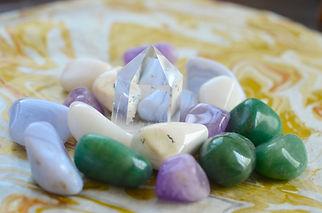 Milky Quartz Crystal. Soothing Vibration