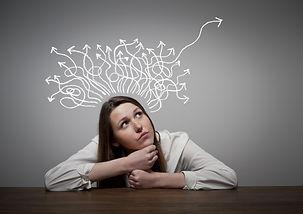 Thinking. Girl solving a problem..jpg