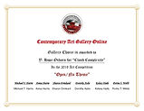 Contemporary Art Gallery Online Open/no theme gallery choice certficate for image Cloud Complexity