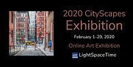 Light Space Time 2020 Cityscapes Exhibition post card