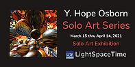 Y. Hope Osborn Solo Art Series Event Postcard