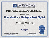 Light Space Time Honorable Mention 10 Annual Cityscapes - Verge