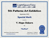 Special Merit Certificate for Ruffled