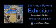 5th Patterns  2021  - Art Exhibition Event Postcard