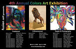 Fusion 4th Annual Colors Exhibit postcard