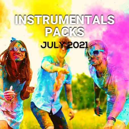 INSTRUMENTALS PACK - July 2021