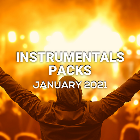 INSTRUMENTALS PACK - January 2021