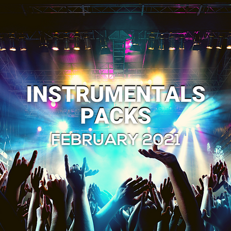 INSTRUMENTALS PACK - February 2021