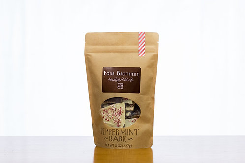 1/2 lb. Peppermint Bark Pouch