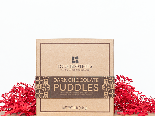 1 lb. Dark Chocolate Puddles Gift Box