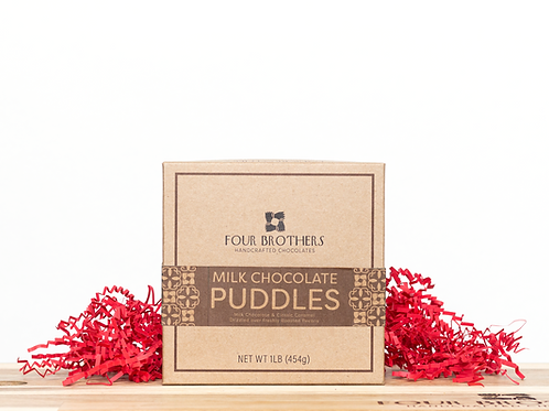 1 lb. Milk Chocolate Puddles Gift Box