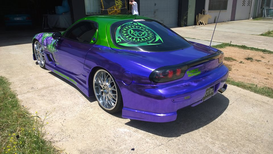 Purple RX7