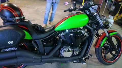 Green Honda