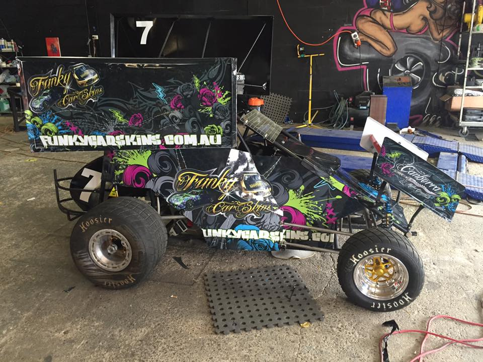 Funky Sprint Car