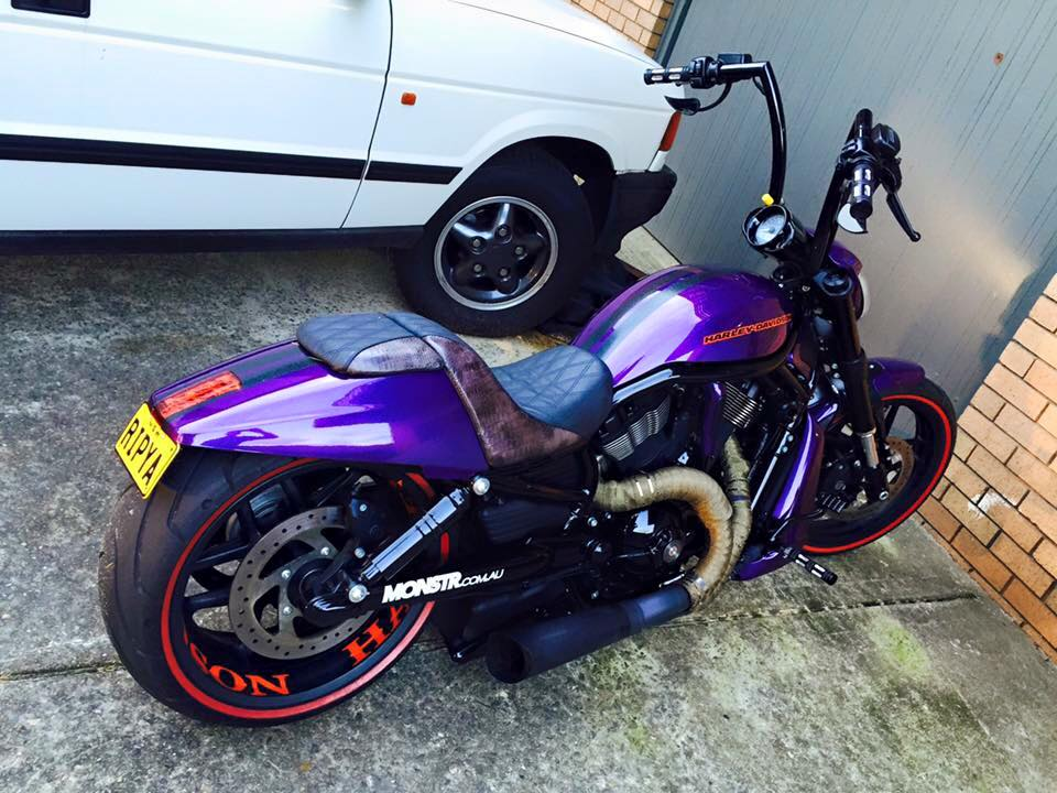 Purple VRod