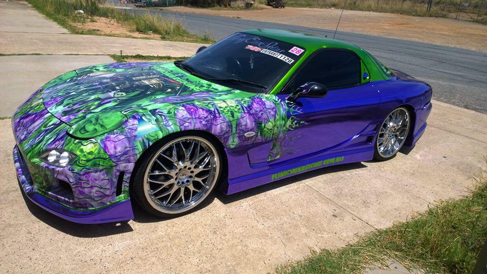 Purple RX74