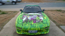 RX7 Green