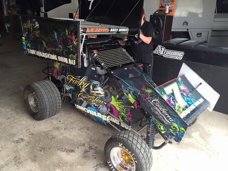 Funky Sprint Car2