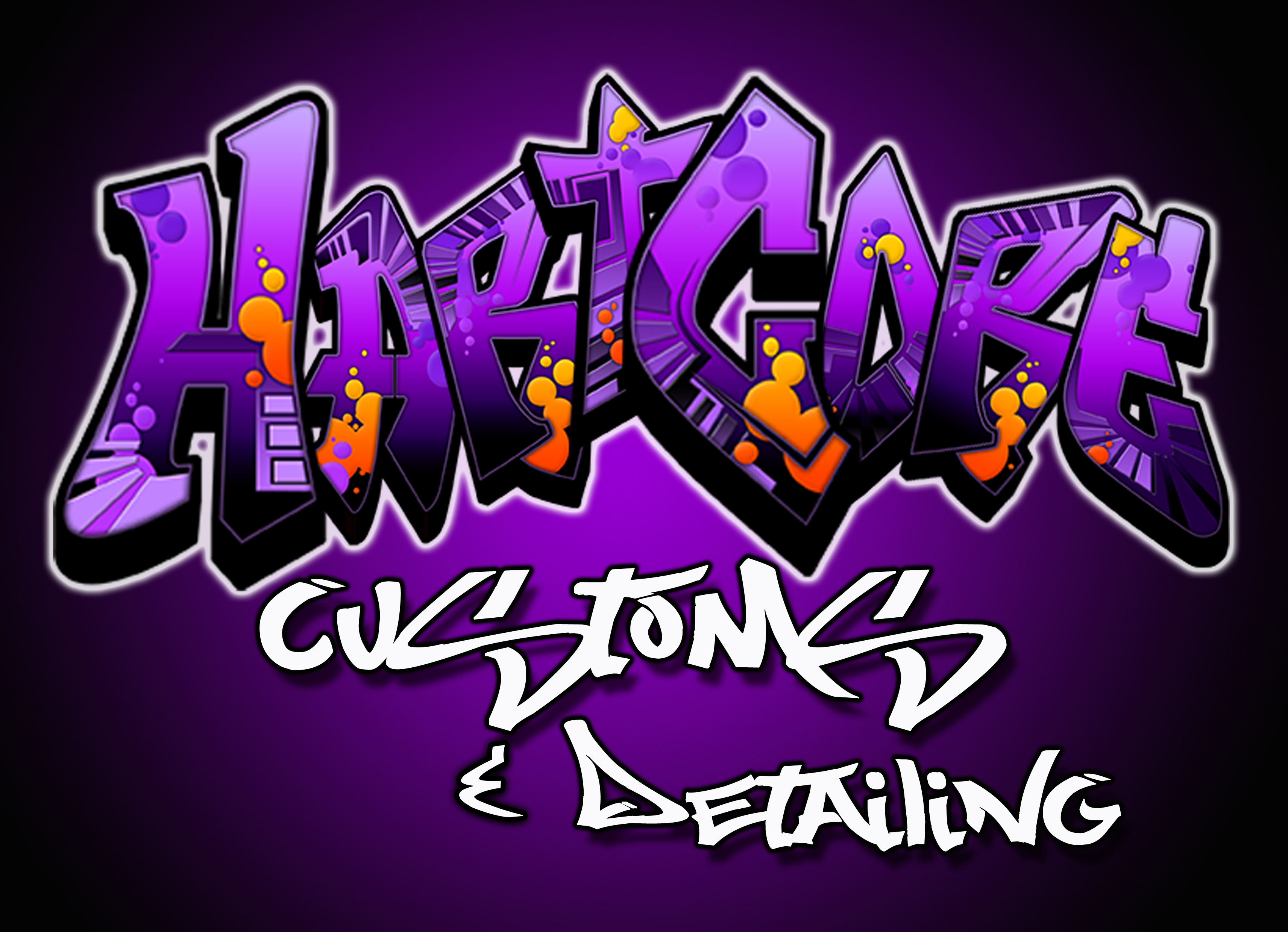 HartCore Customs & Detailing Logo
