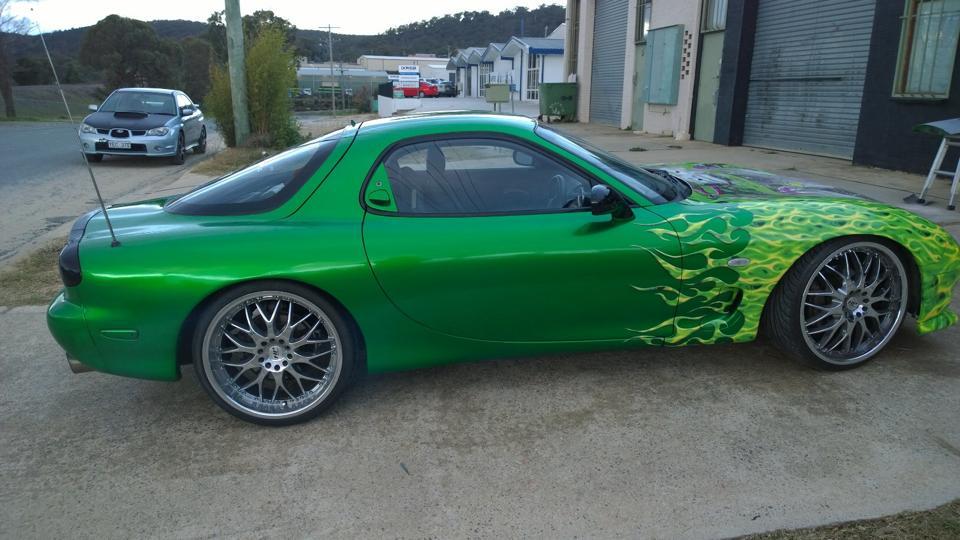 Green RX72