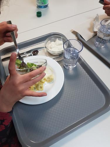 Mittagessen Mensa