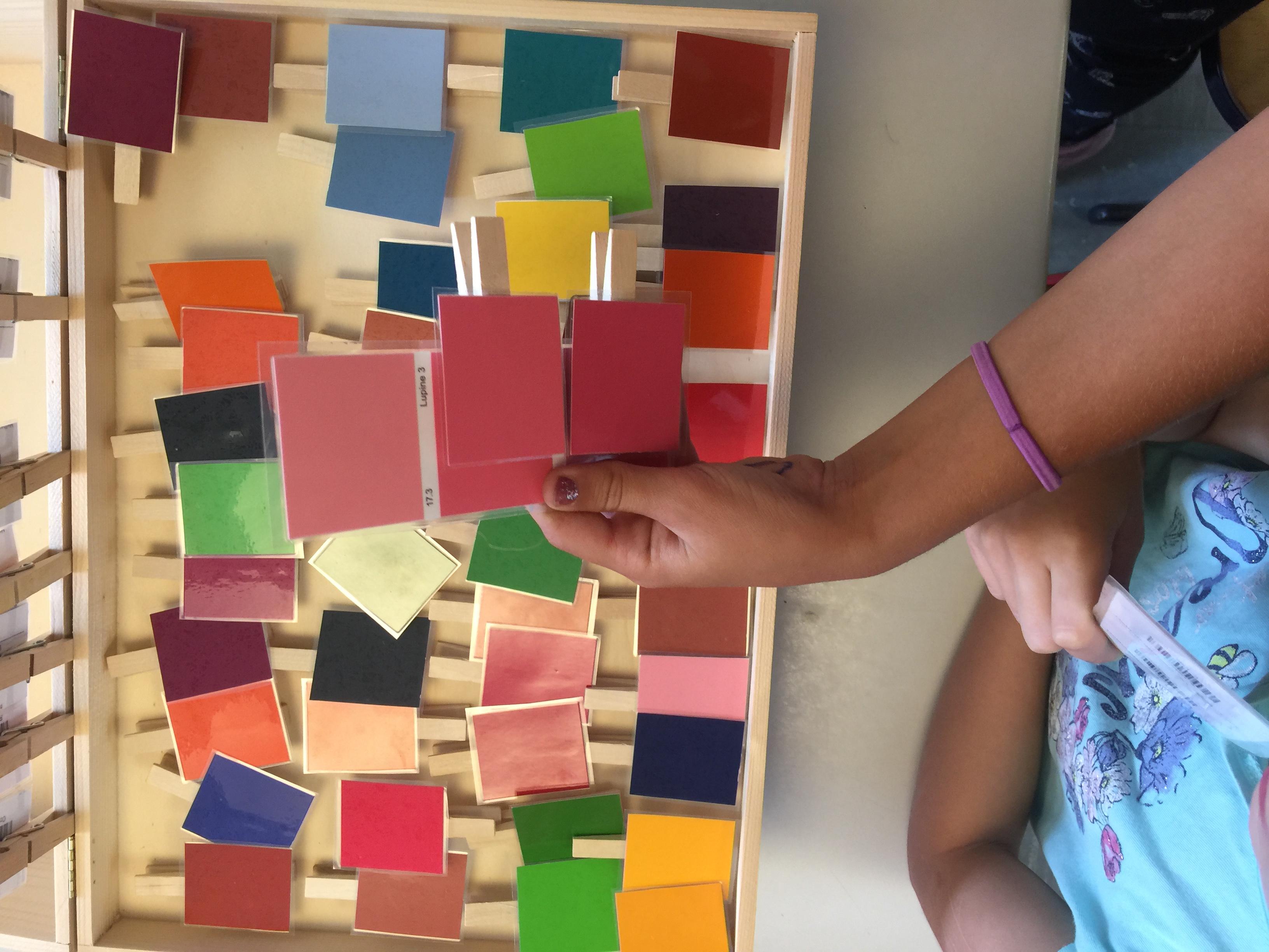 Farbprojekt Grundstufe