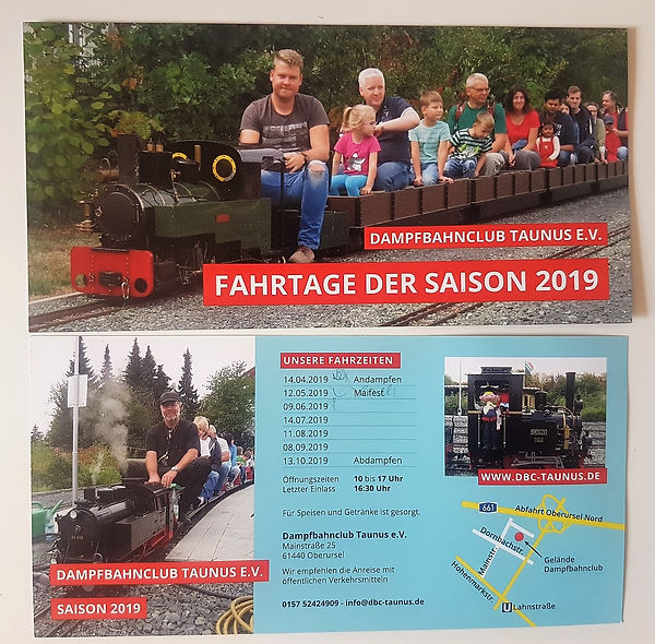 Termine Dapfbahnclub Oberursel