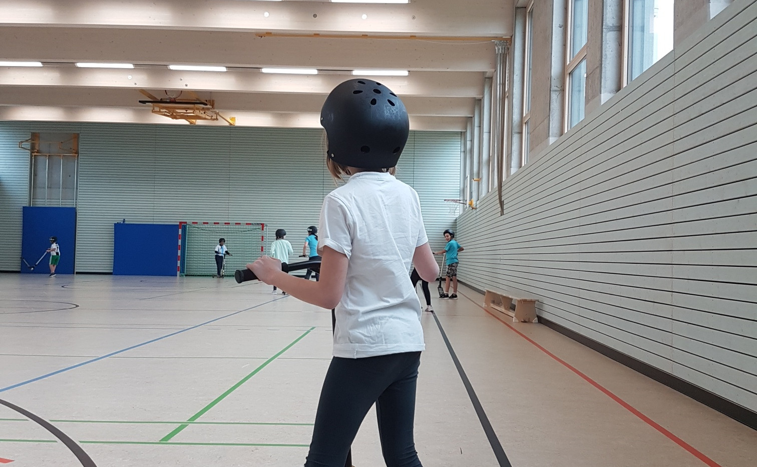 Scooter Turnhalle