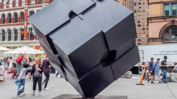 Rashid Johnson Art Installation @ Astor Place