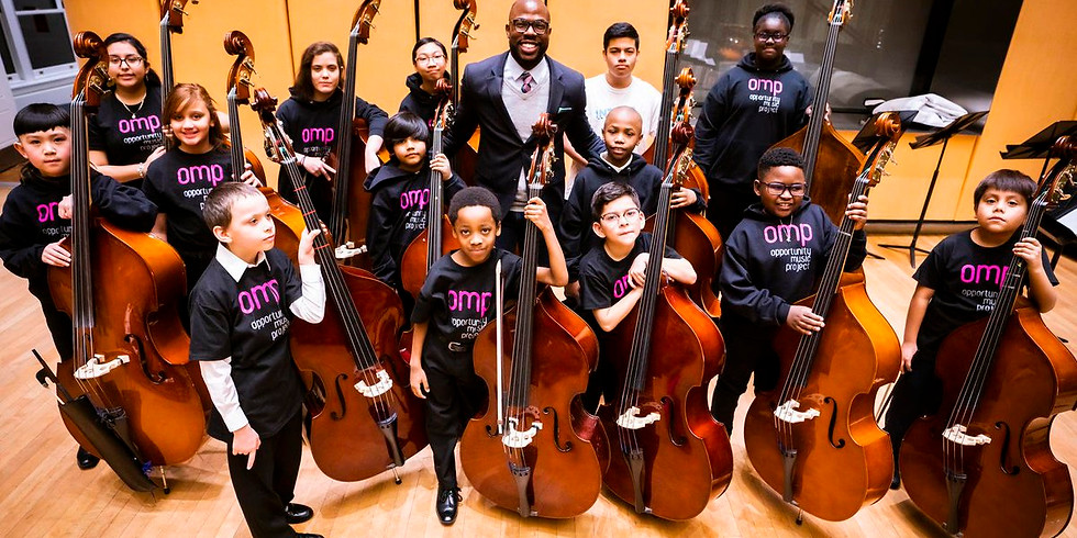 SupportNYC: Opportunity Music Project