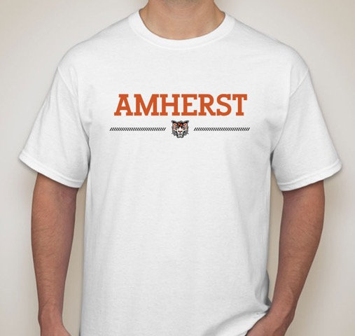 Short Sleeve Shirt - Amherst logo
