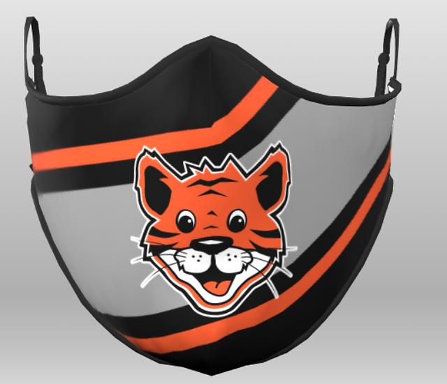 Jr Tiger Face Mask