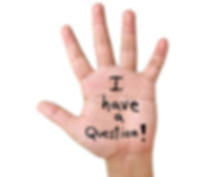 Raising Hand with a Question