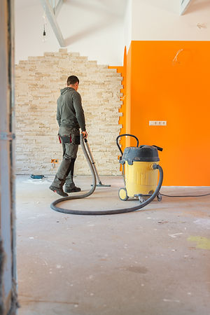 post construction site cleaning services in League City Webster Dickinson