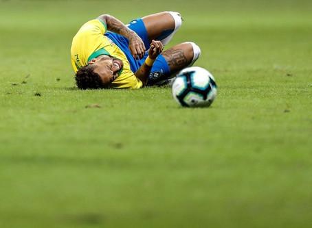 Após lesão, Neymar é cortado da Copa América