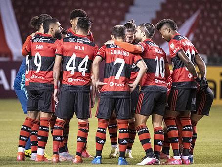 O Flamengo a um passo da classificação.