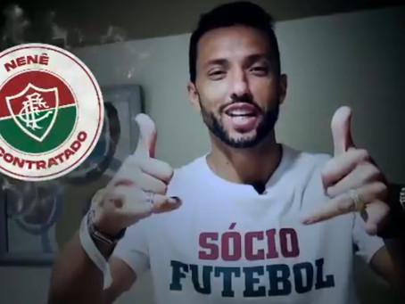 Fluminense anuncia contratação do meia Nenê