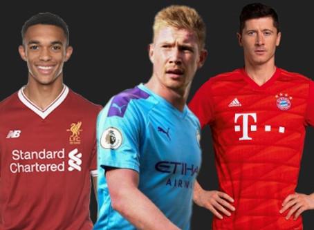"""Qual seria a """"seleção da temporada europeia"""" até o momento?"""