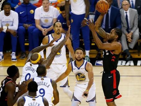Fora de casa, Toronto vence e abre vantagem nas finais da NBA