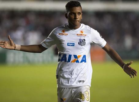 Santos tem quase R$ 15 milhões bloqueados da venda do atacante Rodrygo