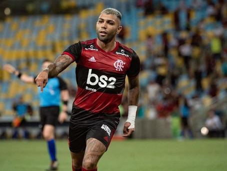 No Flamengo, Gabigol tem participação direta em gols a cada 82 minutos em campo