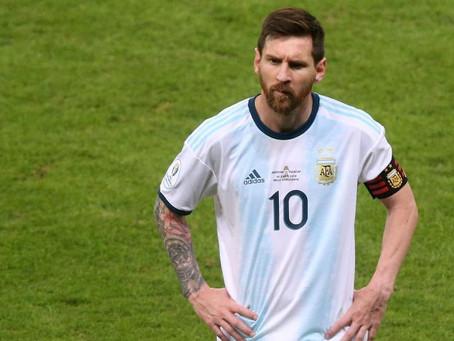 Conmebol pune Messi por declaração a respeito de corrupção durante Copa América