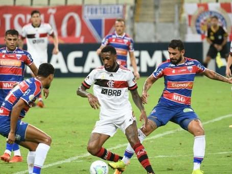 Após derrota para RB Bragantino, o Flamengo recebe o Fortaleza, vice-líder, no Maracanã.