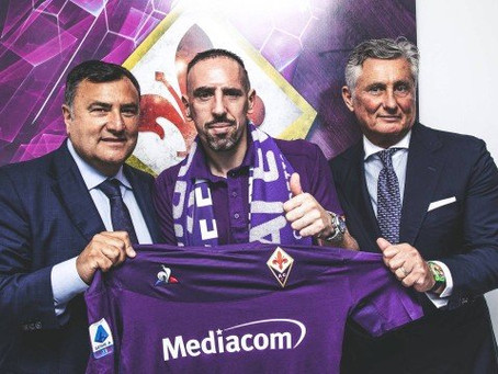 Francês Ribéry é confirmado na Fiorentina como novo reforço