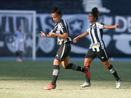 Final do Carioca Feminino 2021: Botafogo vence Fluminense por 2x0