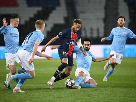 Há um passo de fazer história, City e PSG disputam a inédita vaga na final da Champions League.