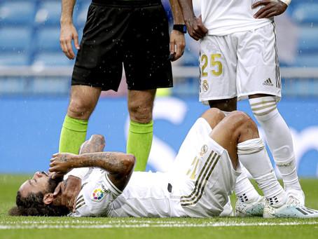 Com dores nas costas, Marcelo deve ficar de fora da estreia na Champions